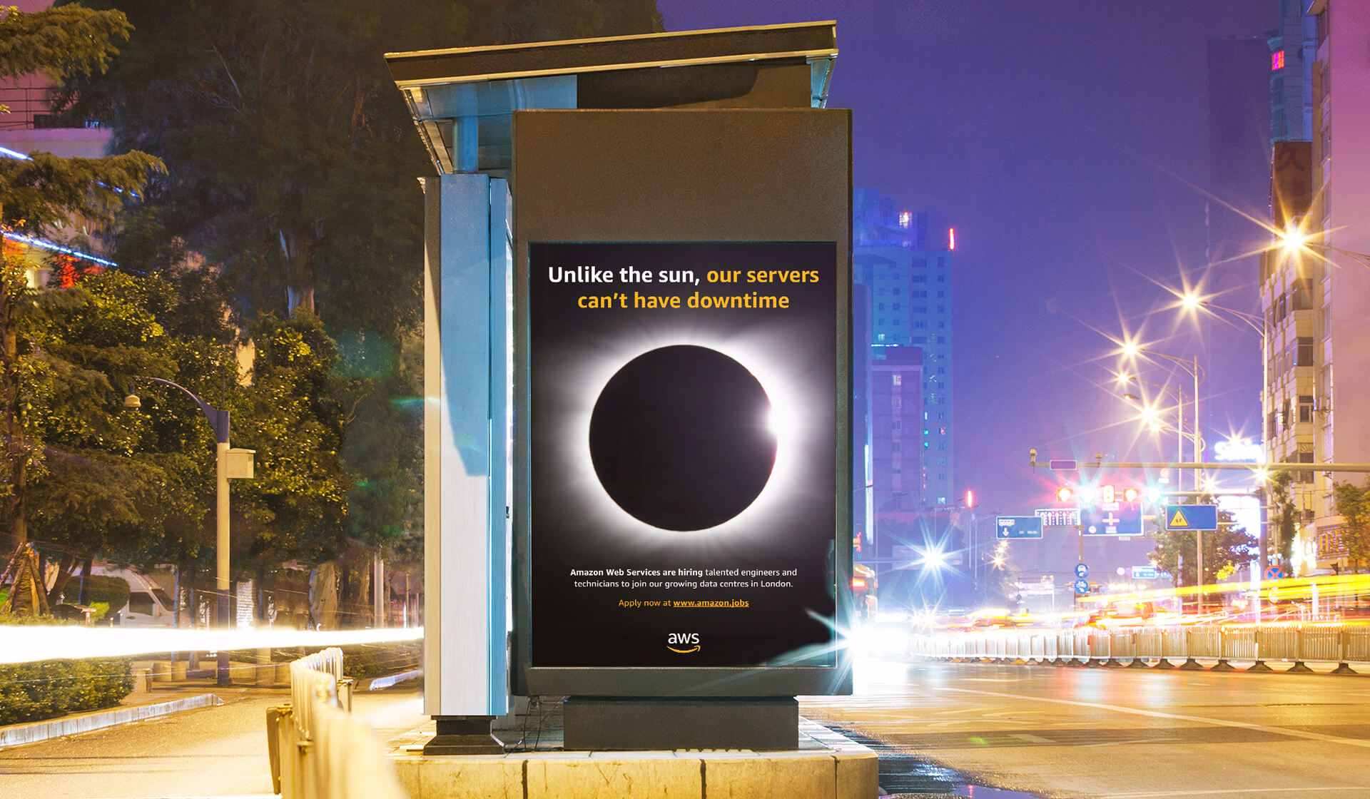 Mellor&Smith - Amazon - Unlike The Sun Advertising Campaign