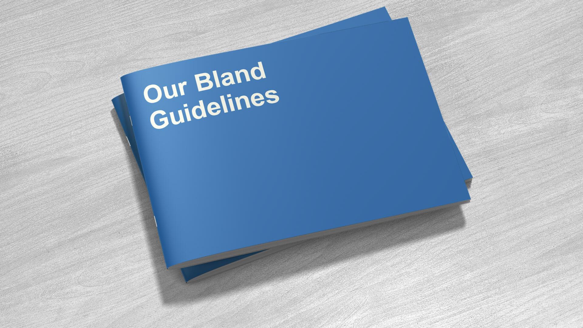 Bland Book - Vikki Ross - Mellor&Smith