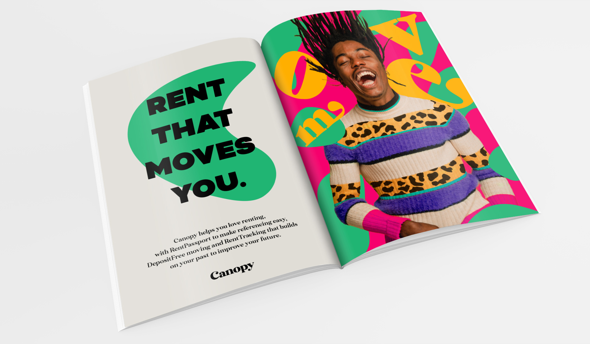 Canopy Rent - Rebrand - Don't Just Move, Grow - Mellor&Smith
