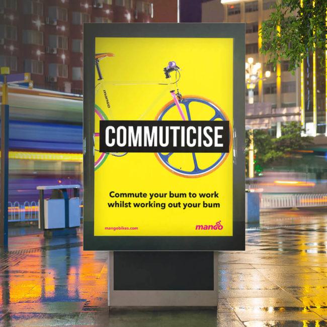 Mango Bikes - Ad Campaign - Commuticise - Mellor&Smith
